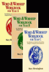 Bundle: Word & Worship Workbook for Year A, Year B, Year C: For Ministry in Initiation, Preaching, Religious Education and Formation